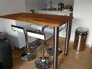 Table De Bar Cuisine Table En Verre Salle A Manger