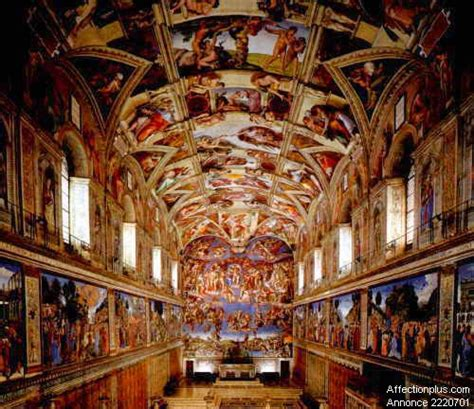 chapelle sixtine michel ange plafond michel ange les fresques de la chapelle sixtine