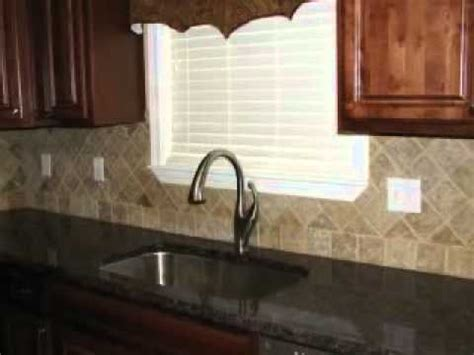 noce travertine backsplash youtube