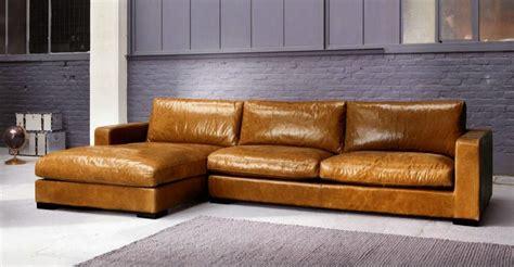 canape cuir marron vintage olket com