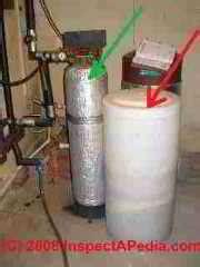 Water Softener Water Softener Brine Tank Smells