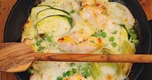 Gratinierter Fisch mit Lauch und Zucchini Rezept Küchengötter