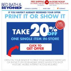 printable coupons in store coupon codes bed bath and