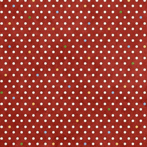 free printable christmas gift wrapping paper colorful dots on holiday red paper