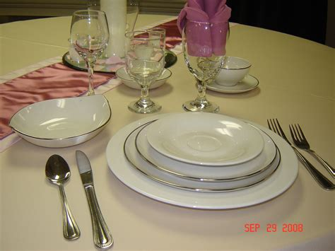 plates flatware dinner plate elegant weddings dinnerware china rentals 2933 classy glasses simplyelegantwed settings glassware