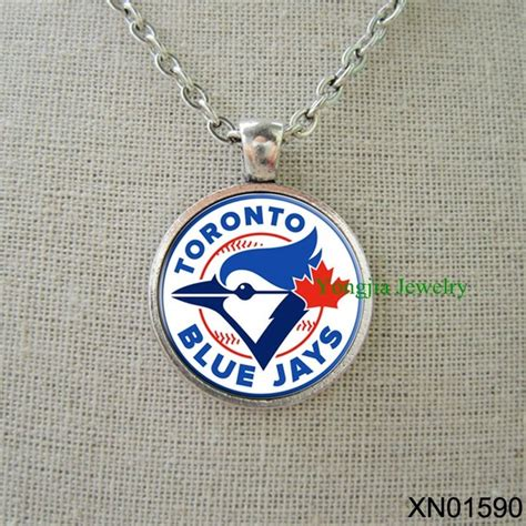 gifts for baseball fans toronto blue jays baseball personalized necklace cool