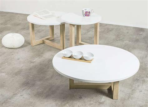 armoire chambre bois table basse scandinave ronde achatdesign
