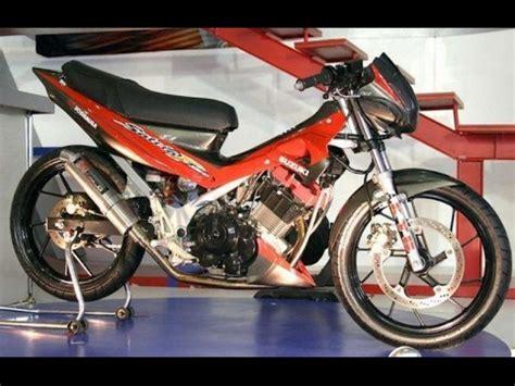 Modif Satria Fu Road Race by Modifikasi Motor Suzuki Satria Fu Road Race Keren