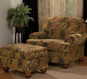 Furniture living room chair and ottoman and oversized for Living room chair and ottoman