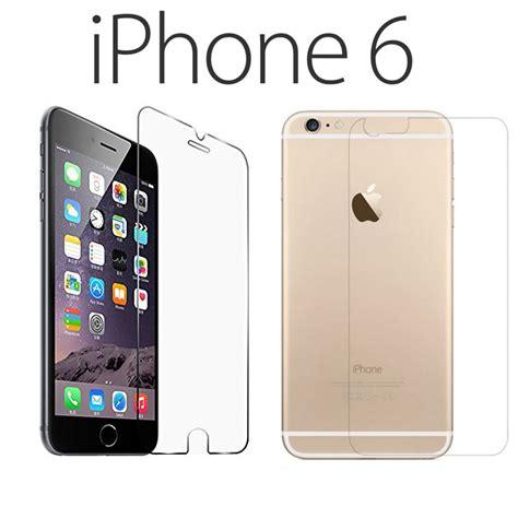 retro phone for iphone pellicola fronte e retro per iphone 6 e 6s clear proteggi