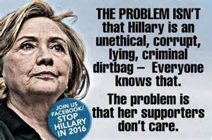 Lying Like A Rug by The Truth Does Not Matter To Hillary Supporters Tea