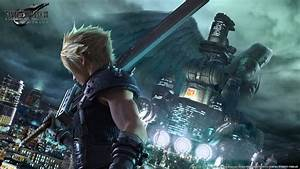 Final Fantasy VII Remake Update New Image Of Cloud And