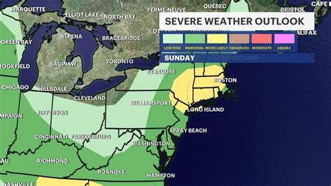 Severe thunderstorm watch, warnings issued for Westchester ...