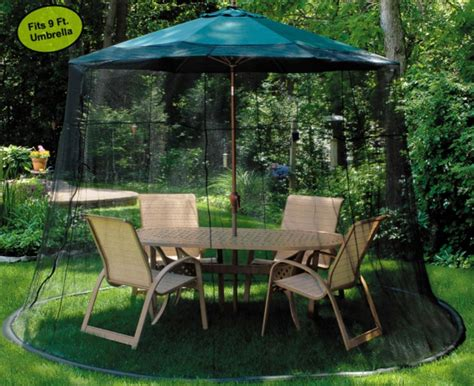 Umbrella Backyard by Best Mosquito Netting For Patio Insect Cop