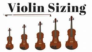Violin Sizing Chart And Measurements
