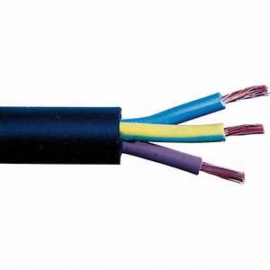 Section De Cable électrique : c ble h07 rn f noir 1 5 mm sermes couronne 50 m 3g 1 ~ Dailycaller-alerts.com Idées de Décoration
