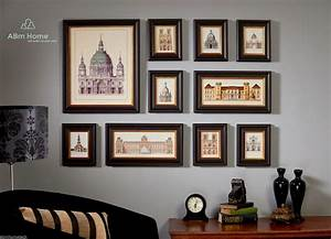 abm home 10 multi picture frame set photo frame set wall With photo frame for wall decoration