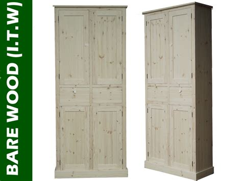solid wood pantry cabinet solid wood cupboard 7ft tall handcrafted larder pantry