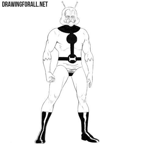 draw ant man drawingforallnet