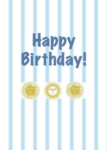 sun  stripes show birthday wishes  happy birthday