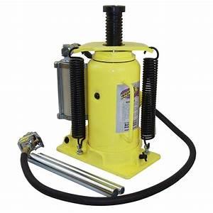Esco 20-ton Air  Manual Hydraulic Bottle Jack-10450