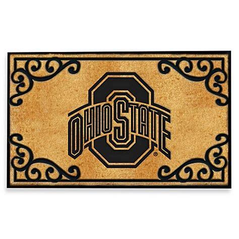Ohio State Doormat by Ohio State Coir Fiber Door Mat Bed Bath Beyond
