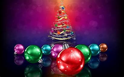 Ornaments Tree Glitter Wallpapers Holiday Desktop Backgrounds