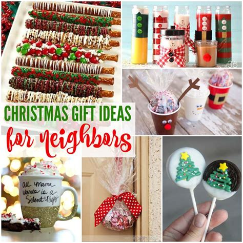 20 simple christmas gift ideas for neighbors