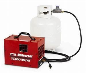 30 000 Btu Forced Air Propane Heater Rentals Campbell Ca