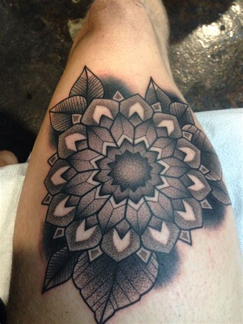 tattoo dotwork mandala  dannii garbiras guest