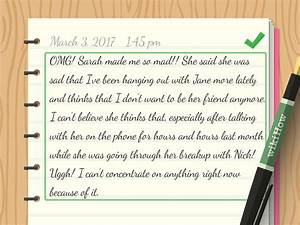 How To Write A Diary  With Sample Entries