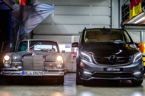 Mercedes V Class Hd Picture by Official Larte Design Mercedes V Class Black