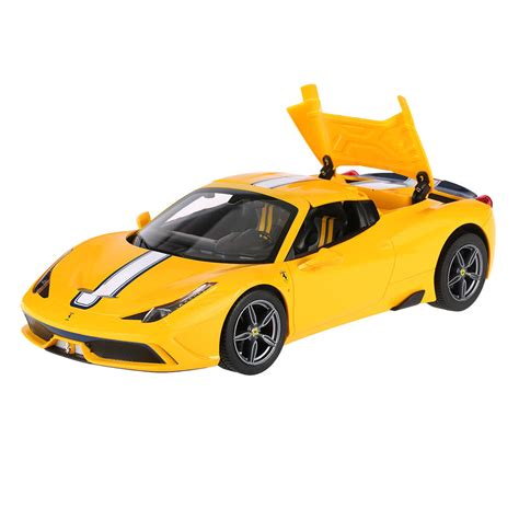 The vehicle is suitable for children from 2 years of age and promotes the fine motor skills, skill and sense of model car · remote control · batteries · instructions. Original Rastar 74500 1/14 Ferrari 458 Speciale A Convertible Version Drift RC Car for Sale - US ...