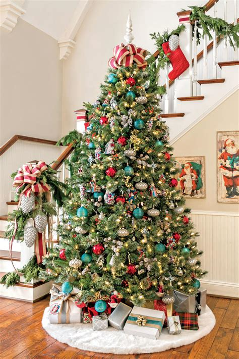 ideas for classic christmas tree decorations happy christmas tree decorating ideas southern living