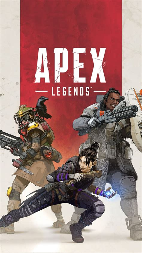 game poster apex legends  wallpaper video game