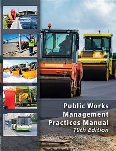 Public Works Management Practices Manual  U0026 Online Software