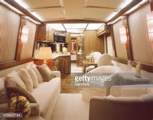 motor home interior luxury motorhome interior stock photo getty images