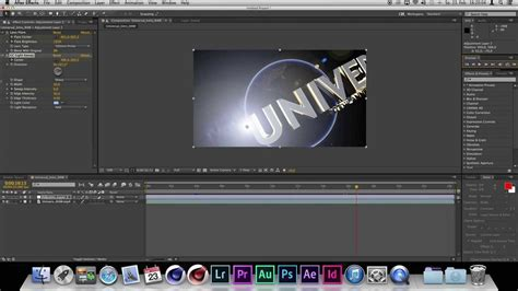 after efects universal template adobe after effects universal intro lens flares cinema