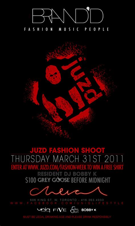 Lg Toronto Fashion Week Parties Contintues For Juzd