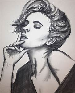 41 Best images about Charcoal on Pinterest | Face drawings ...