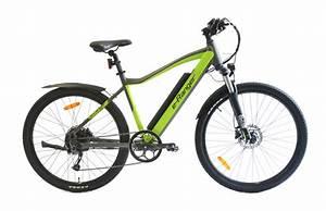 Titan Mtb Green  Black E Bike