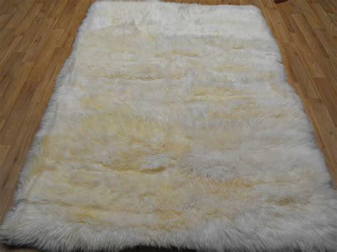 white sheepskin rug sheepskin rug white rectangle sheepskin white rectangle