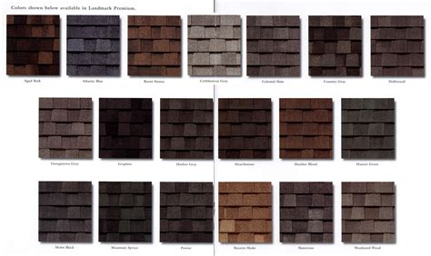 roofing shingles colors picking the right color of roofing shingles for your home