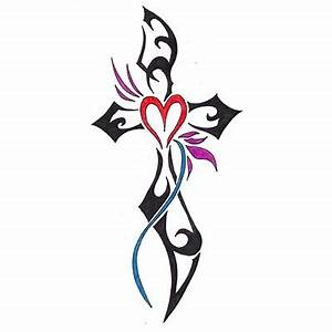 Holy cross Design Water Transfer Temporary Tattoo(fake ...