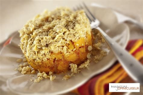 Recette Facile Crumble Courge Butternut