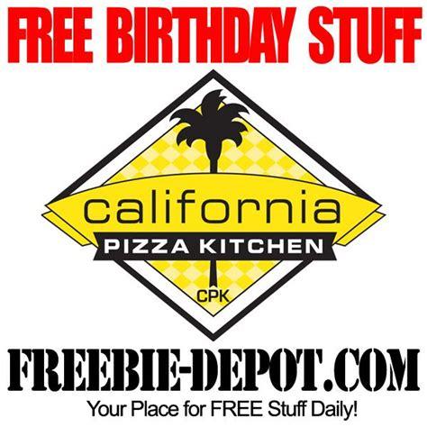 birthday freebie california pizza kitchen  bday