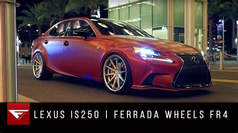 lexus  ferrada wheels fr youtube