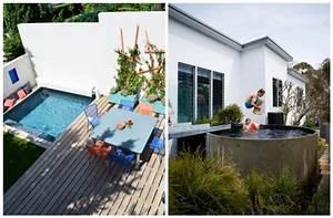 Mini Pool Terrasse : piscine dans un petit jardin id es et inspirations clemaroundthecorner ~ Orissabook.com Haus und Dekorationen