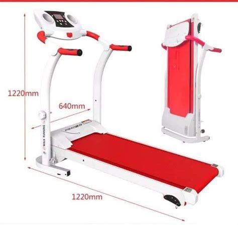 Treadmill 6 Fungsi treadmill elektrik 1 fungsi