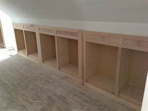 Wall book cases upstairs hallway knee bookcases